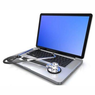 Включенный ноутбук