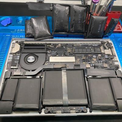 Ремонт разобранного ноутбука